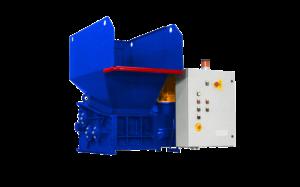 3 shaft industrial shredder 3K 30 HP series electric drive   SatrindTech Srl