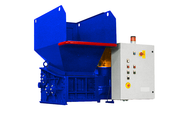 3 shaft industrial shredder 3K 30 HP series electric drive | SatrindTech Srl