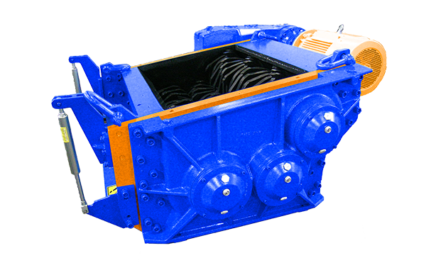 3 shaft industrial shredder 3K 60 HP series electric drive | SatrindTech Srl