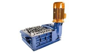 2 shaft industrial shredder F 15 HP series electric drive | SatrindTech Srl
