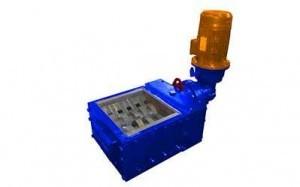 2 shaft industrial shredder S3 4 HP series electric drive | SatrindTech Srl
