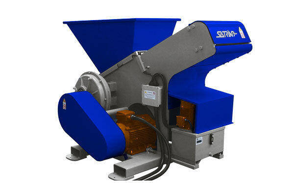 Single shaft industrial shredder 1K 28 series electric drive | SatrindTech Srl