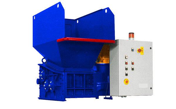 Broyeur industriel 3 arbres 3K 30 HP moteur électrique | SatrindTech-France Group SEREX