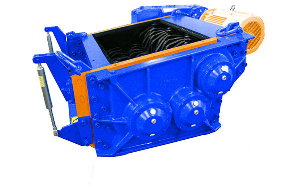 3 shaft industrial shredder 3K 60 HP series electric drive | SatrindTech Srl
