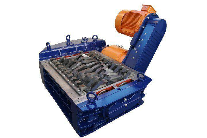 2 shaft industrial shredder K50M electric drive with automatic transmission | SatrindTech Srl