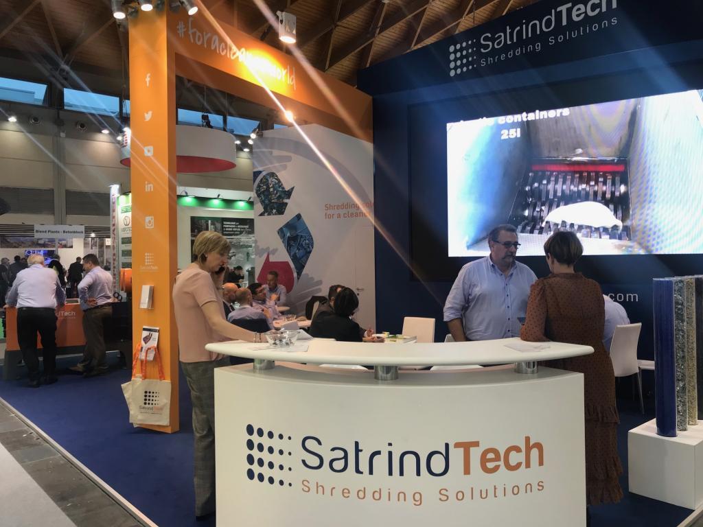 Ecomondo fair 2019 - SatrindTech Srl