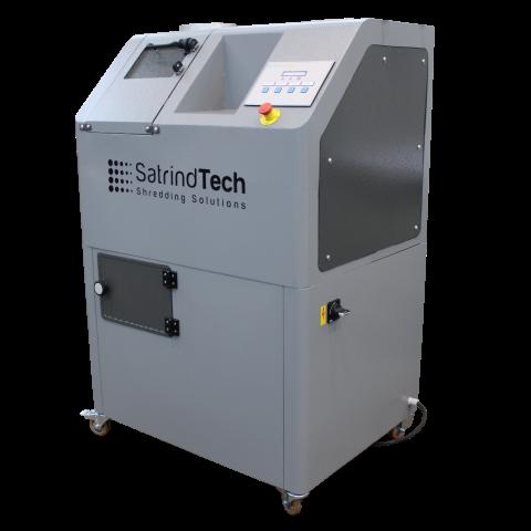 2 shaft shredder S2 series electric drive | SatrindTech Srl